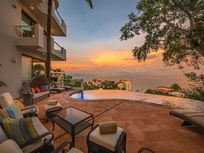 Oceanview Villa with pool for rent in Conchas Chinas Puerto Vallarta