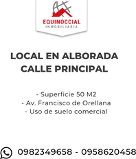 Alquiler de local en Alborada , Av Francisco de Orellana