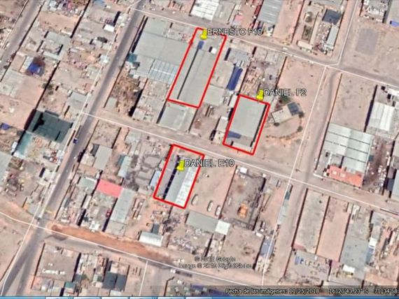 Venta local industrial,1500 m2,2270 m2