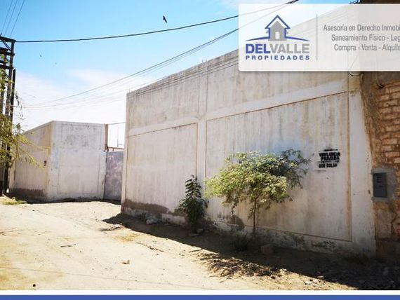 SE VENDE Local Industrial en Pariñas  TALARA.