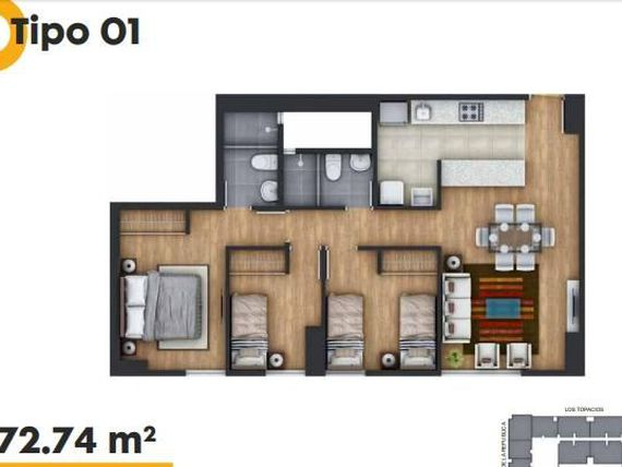 PROYECTO ON APARTMENTS