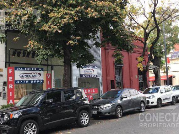 Local Alquiler- 8.66m x 30m   entrep.   sótano / 350m2 totales - Palermo Soho