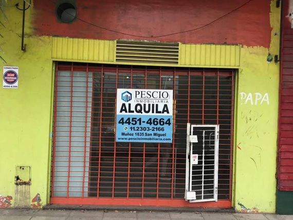 Se Alquila Excelente Local en Jose C Paz