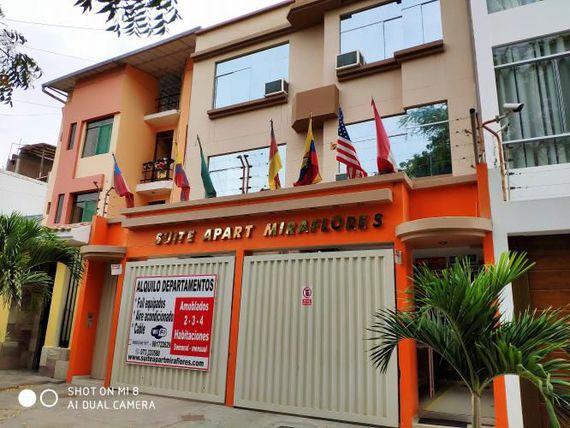SE VENDE HOTEL SUIT APARTMENT MIRAFLORES (SUCURSAL EL CHIPE)