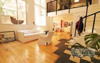 Loft  Apto profesional super luminoso con Patio! 115m2.