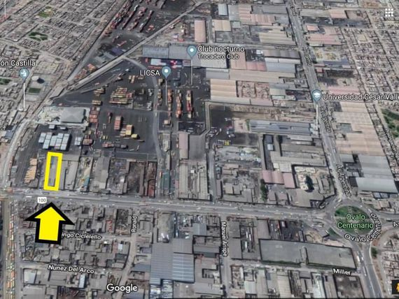 Vendo Local Industrial de 2,500 m2 en el Callao