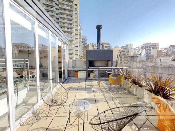 ESPECTACULAR!!! Triplex con terraza privada. 3/4 dorm    dep. 100% onda! recorre video 3D.