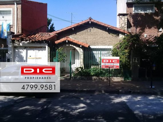 Chalet 5 Ambientes |Ideal  Reciclar | Lote 8.66x30