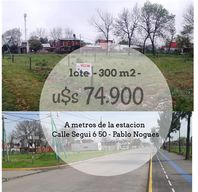 LOTE  VENDE  PABLO NOGUES FINANCIACION