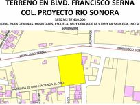 3850 M2 DE TERRENO BLVD. FRANCISCO SERNA