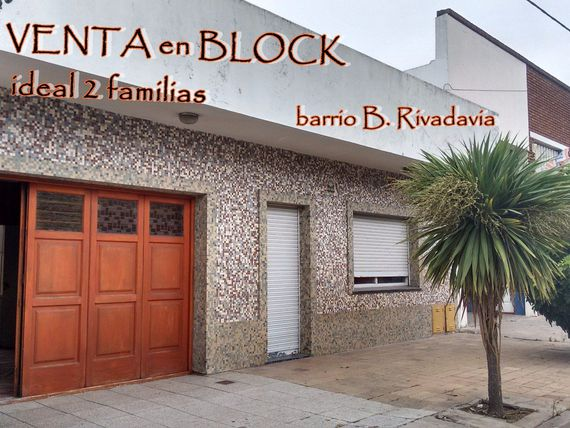 Venta en BLOCK Casa + Depto + Local