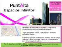 Departamento en Venta en Angelopolis Elipsis Tower at Puntalta