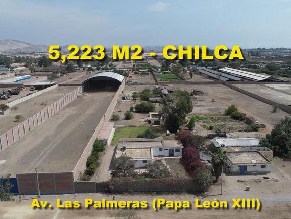 Vendo Local Industrial de 5223 m2 en Chilca