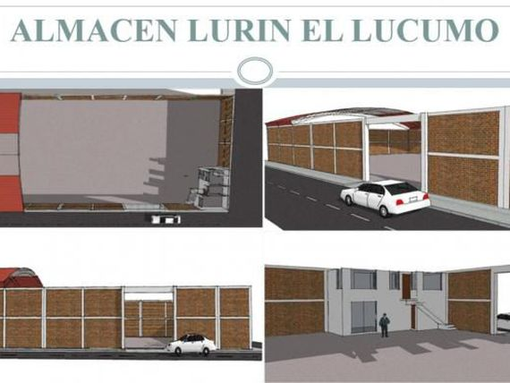 LOCAL INDUSTRIAL IDEAL ALMACEN O TALLER EN LURIN