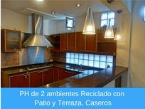 PH 2 amb.  Hidro /Patio /Terraza, Caseros