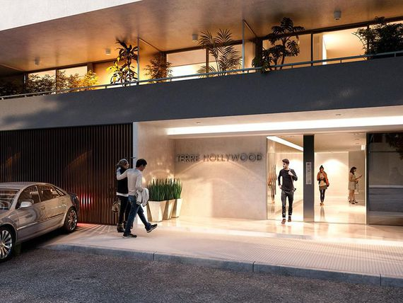 1 ambiente Divisible 44m2 en Palermo Hollywood. Edificio con Amenities