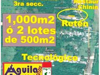 Terreno en Venta en Occidente 3a Secc