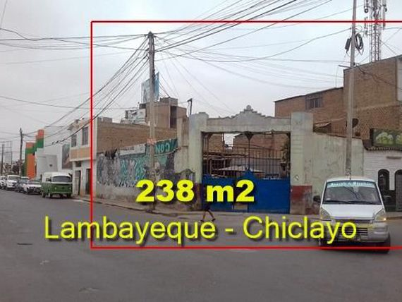 VENDE COMO TERRENO DE 238.15 MT2 EN LAMBAYEQUE.- CHICLAYO