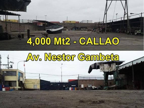 VENDO LOCAL INDUSTRIAL DE 4,000 MT2 EN EL CALLAO.