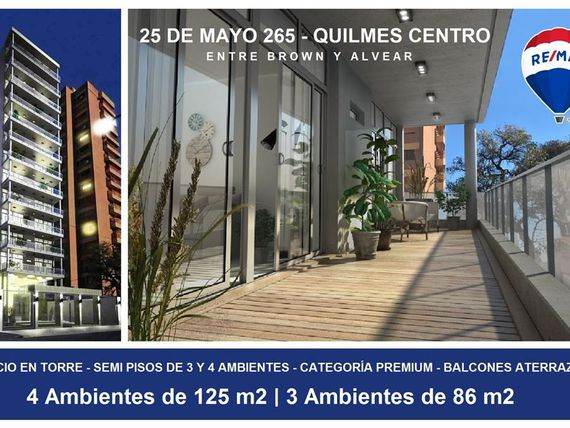 DEPTO 3 AMBIENTES + COCHERA - QUILMES - FINANCIADO