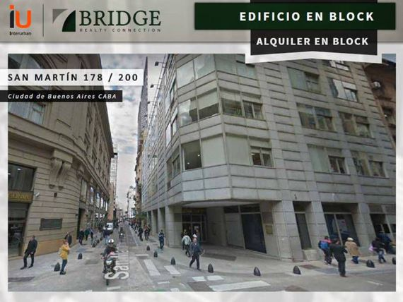 ALQUILER - EDIFICIO EN BLOCK con local comercial
