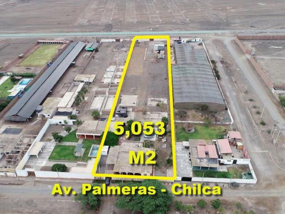 Vendo Terreno Industrial de 5,053 m2 en Chilca