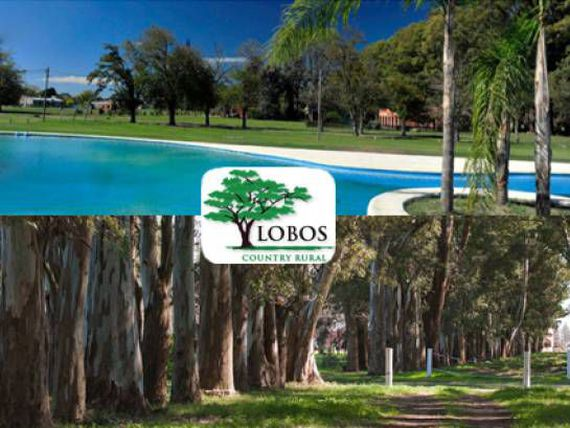 VENTA HERMOSO TERRENO EN LOBOS COUNTRY CLUB