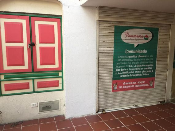Arriendo local en la Plaza de Bolívar
