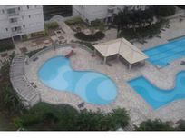 Apart. mobiliado cond. acqua play resort - Santos