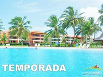 Apartamento 2 Quartos no Aquaville Resort - Temporada